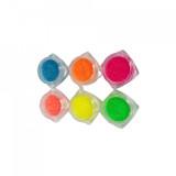 Set 6 sclipici fin neon