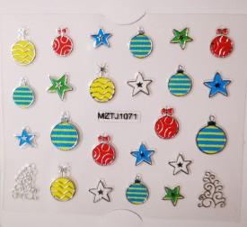 Sticker iarna MZTJ1071