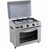 Baby cucina per uso domestico mod. FO600 SAGGP/G/C. Colore: Fianchi inox e coperchio grigio