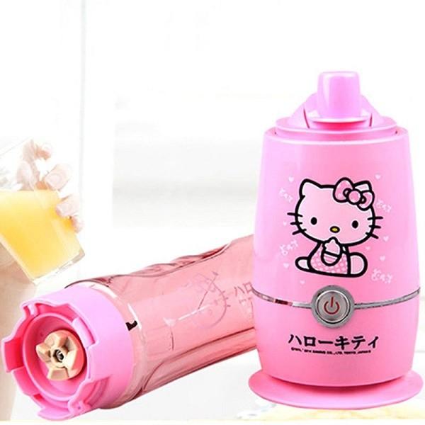 Kitty In A Blender ~ Hello kitty smoothie blender sa dve posude