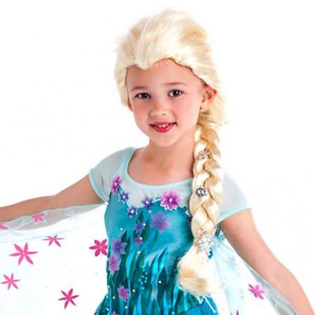 Slika Frozen Elsa perika za devojčice