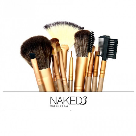 Slika Naked set od 12 profesionalnih četkica za šminkanje