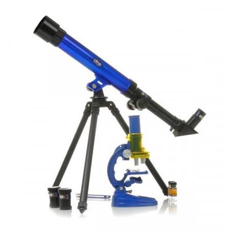 Slika 2u1 Teleskop i Mikroskop za male naučnike