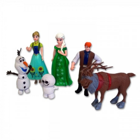 Slika Frozen Fever set od 6 figura