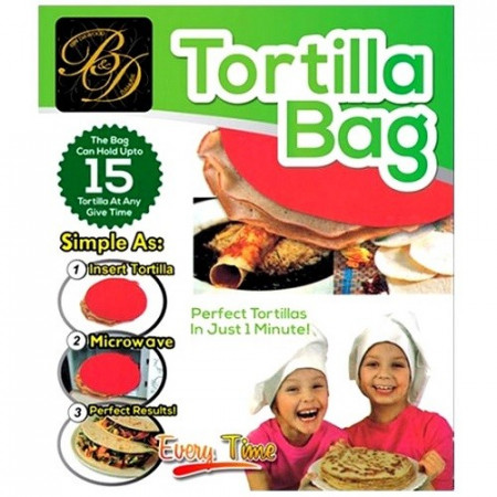 Slika Najukusnija hrana u mikrotalasnoj uz tortilja torbicu
