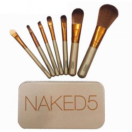 Slika Naked set od 7 profesionalnih četkica za šminkanje