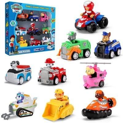 Patrolne Šape cela družina sa vozilima u kompletu