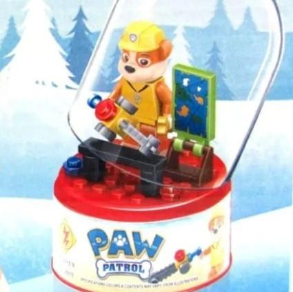 Slika Patrolne Šape kockice figurice na sklapanje sa postoljem