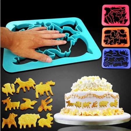Slika Kalupi za kolače u obliku životinja