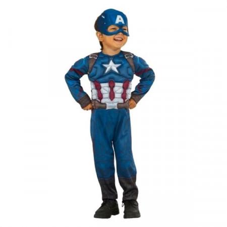 Slika Kapetan Amerika kostim sa mišićima i maskom