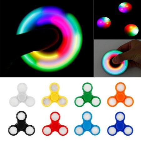 Slika Led Light Hand Spinner! Antistres Igračka za Sve Uzraste!