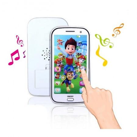 Slika Patrolne Šape touch screen telefon igračka sa pesmama i pričama