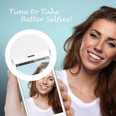 Slika Selfie Ring Light - LED selfi svetlo za mobilne telefone