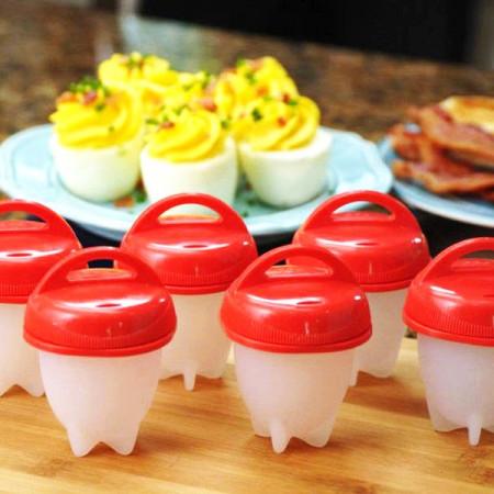 Slika Silikonski kalupi za poširana jaja