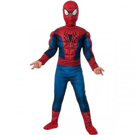 Spiderman kostim sa mišićima i maskom