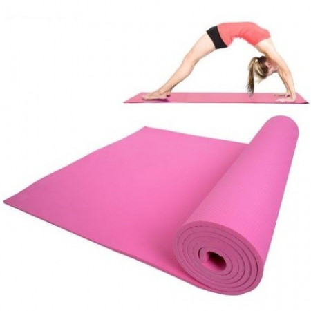 Slika Udobna prostirka za vežbanje. Pilates, yoga, fitness