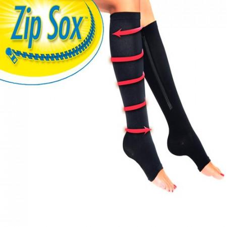Zip Sox kompresione čarape sa ziperom