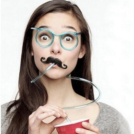 Slika Blesave naočare sa slamčicom