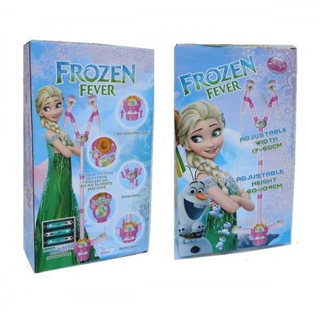 Slika Frozen Fever Twin Mp3 mikrofon sa disko kuglom