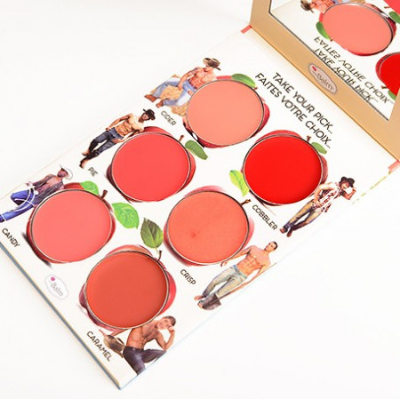Slika How 'Bout Them Apples? The Balm paleta kremastih tonova za usne i obraze