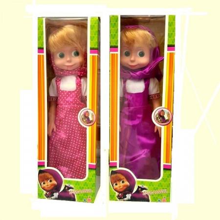 Slika Lutka Maša visine 40 cm iz popularnog crtanog filma