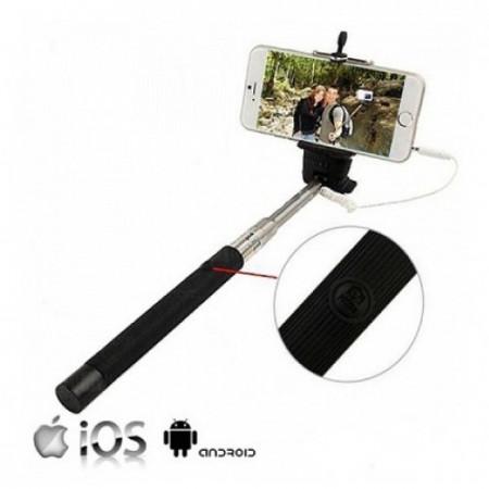 Slika Selfie Stick sa priključkom za telefon i tasterom za slikanje