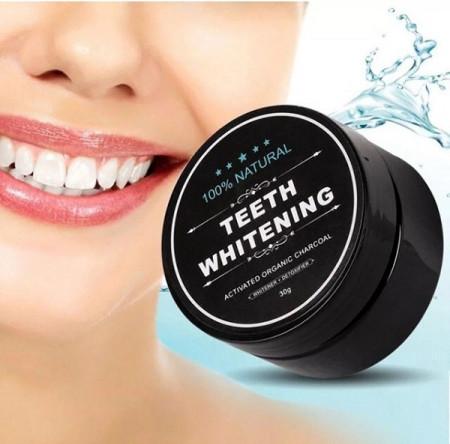 Slika Miracle Teeth Whitening - medicinski aktivni ugalj za trenutno izbeljivanje zuba