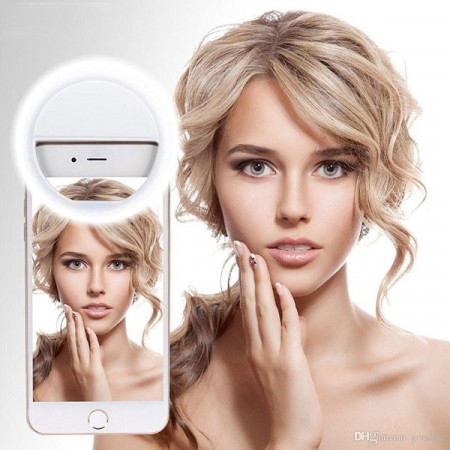 Slika Selfie Ring Light - LED Selfi Svetlo za Mobilne telefone!