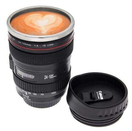 Slika Šolja objektiv - jutarnja kafa za bolji fokus