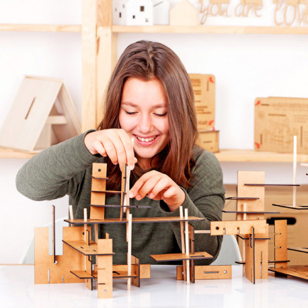 Slika ArchiConstructor – set za gradnju i konstruktivnu igru