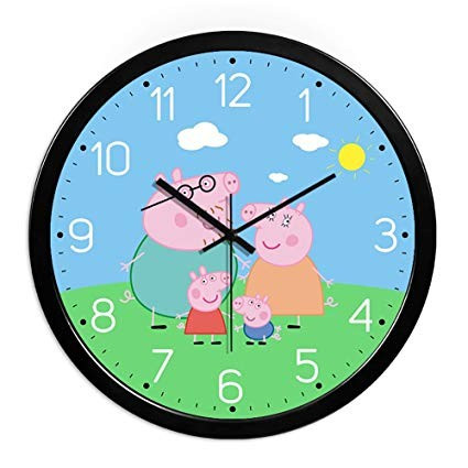 Slika Dečiji zidni satovi sa likovima najpoznatijih crtanih junaka