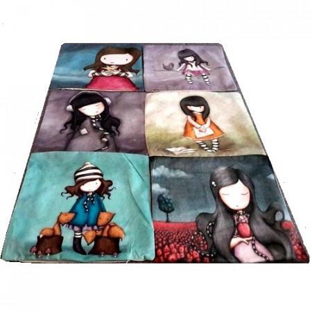 Slika Dekorativne jastučnice sa likovima popularnih devojčica
