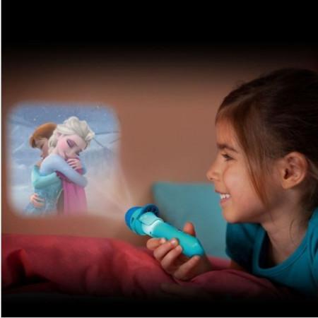 Slika Frozen baterijska lampica projektor slika omiljenih junaka
