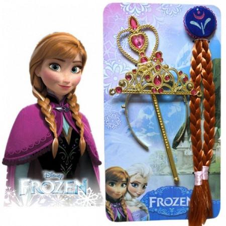 Slika Frozen set princeza Ana - Kruna, Pletenica i Čarobni Štapić