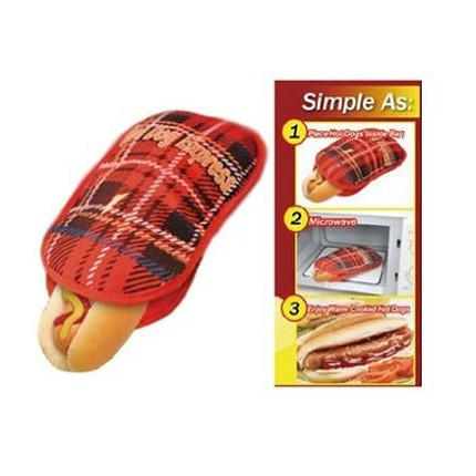 Hot Dog mikrotalasna torbica za najukusnije zalogaje u sekundi