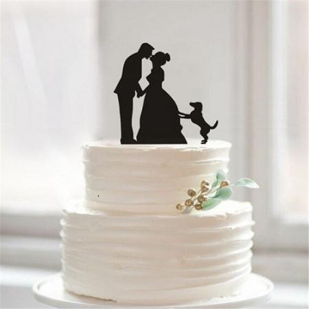 Slika Akrilni ukrasi za vrh torte