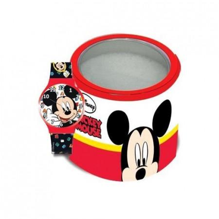Dečiji sat Mickey Mouse u metalnoj kutiji