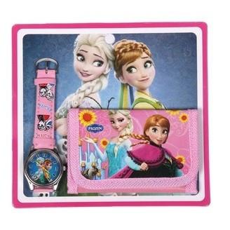 Slika Frozen dečiji sat i novčanik