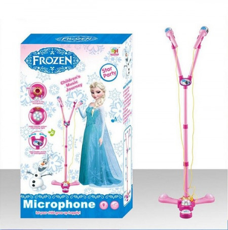 Frozen Fever Twin Mp3 mikrofon sa disko kuglom