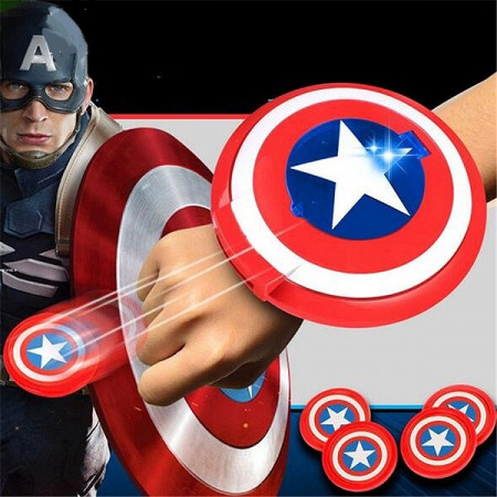 Slika Kapetan Amerika štit ispaljivač diskova