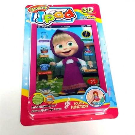Slika Maša pametnica 3D edukativni dečiji tablet na engleskom jeziku
