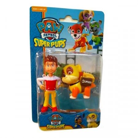 Slika Patrolne Šape Super Pups omiljene figure+ryder
