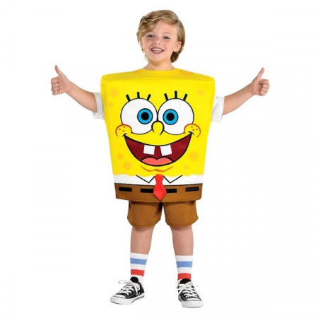 Slika Sundjer Bob dečiji kostim
