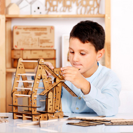 Slika Winda ArchiConstructor – 3u1 set za gradnju i konstruktivnu igru