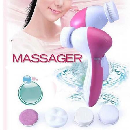 Slika Beauty masažer za dubinsko čišćenje i piling lica sa 5 nastavaka