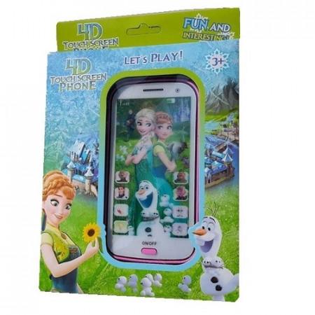 Slika Frozen Fever 4D interaktivni telefon za decu na engleskom jeziku