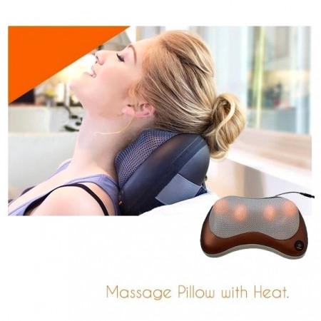 Slika Shiatsu Infrared termo magnetni jastuk za masažu