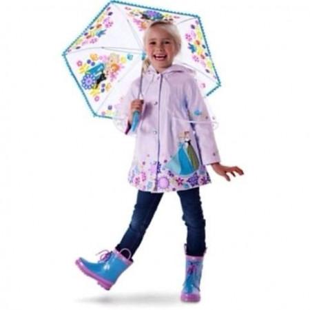 Slika Kišni mantilić kabanica Frozen, Barbie, diznijeve Princeze