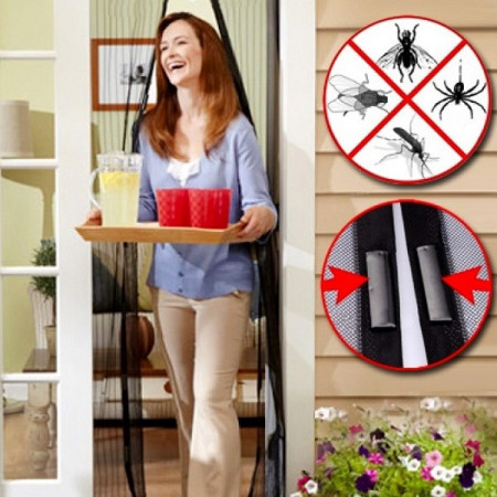 Slika Magnetna zaštitna mreža od komaraca i insekata