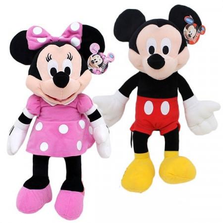 Slika Minnie i Mickey Mouse plišane muzičke igračke